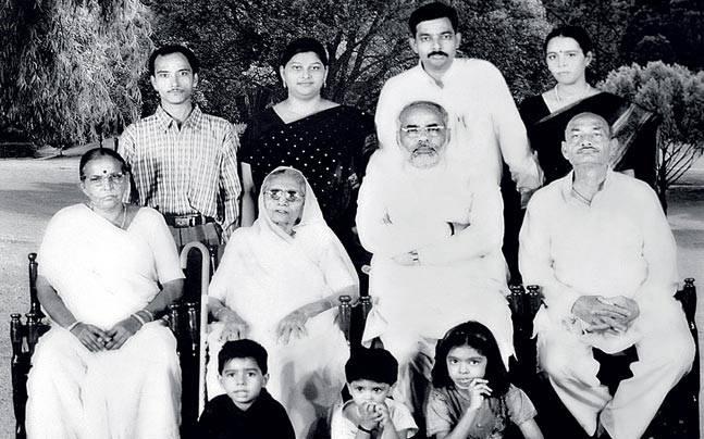 Narendra Modi : Family Photo