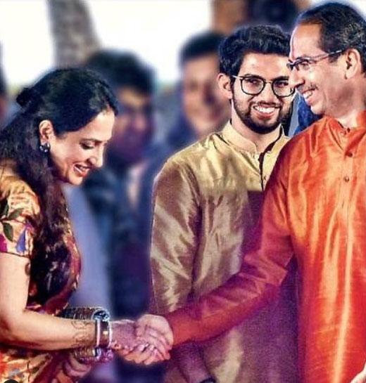 aditya-thackeray-mother-father