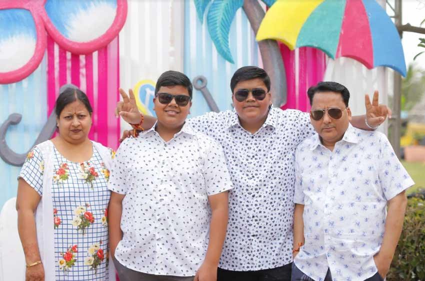 gaurav-goenka-family