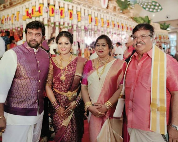 meghana-raj-family